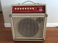 The SWR Strawberry Blonde Acoustic Combo Amp is the