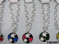 Brand new pierced earrings and pendant set. Light