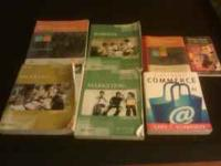 Hello i have many books from strayer call or text if