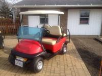 2006 Gas Club Car Precedent Golf carts totally replaced