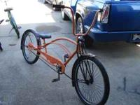 Stretched beach cruiser if interested... call