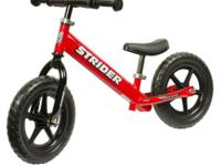 We have Strider Balance Bikes for sale.  They range