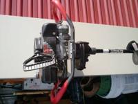 """I have a Strikemaster XL3000 3HP 8"""" ice auger for sale."""