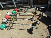STRING TRIMMERS FOR SALE FRONT TO BACK WEEDEATER - 35