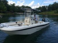 Led striped bass fishing expedition on Smith lake,