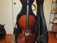 Frederick Strobel 3/4 Cello - 2011 Model K36 - $750.00