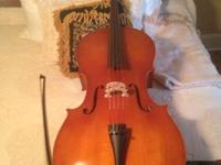Grownup 4/4 cello for sale asking $800. Acquired 8/4/11