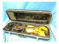 Strobel ml-80 4/4 violin w/bow & case (excellent