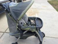 good condition - stroller made by chicco - , need some
