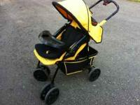 Stroller used for two summers. Comfortable material-