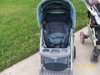 Graco stroller in like new condition. Has clock and