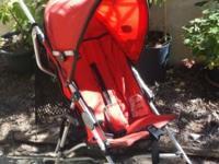 Chicco Ct0.6 Capri stroller tangerine. An ultra