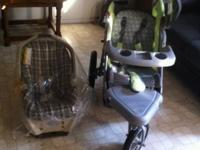 I have a baby stroller and baby seat use good