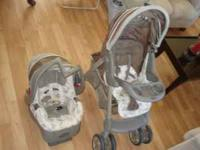 Evenflo Travel System, includes stroller, car seat and