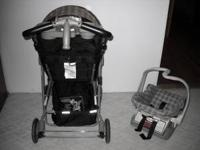 EVENFLO STROLLER AND CARSEAT. Very good condition (no