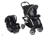 The Bertini B5 Travel System in Valencia includes the