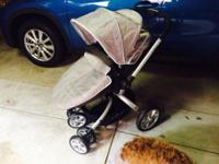 Baby love twister pram. Convert from bassinet to