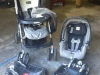 Excellent Condition Peg Perego System  *Car seat - has