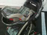 Graco Stroller/car seat/base for car - Car seat snaps