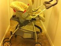 Graco infant carseat/stroller combo. Comes with THREE