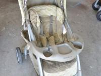 THIS STROLLER&CAR IS ON EXCELLENT CONDITION.USED FOR