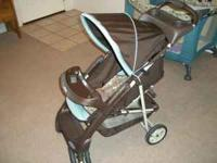 We have a Graco stroller car seat combination with a