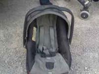 In excellent condition!!! Stroller is reversable!! You