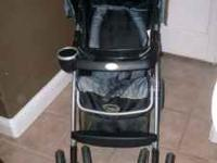 Stroller costco brand black and grey great condition