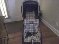 STROLLER--DUO GLIDER--GRACO-- PRINCETON GOOD CONDITION