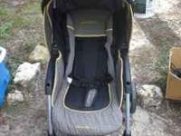 Baby Stroller -- Eddie Bauer Collapsible -- In very