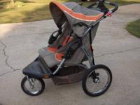 Stroller Baby Trend Expedition side by side, sunroof,