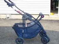 Baby Trend Stroller for transporting an Infant Carseat