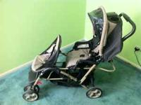 Graco Duo Glider LXi Double Stroller in good condition.