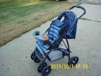 Really new double wheel stroller, $40.00. Good