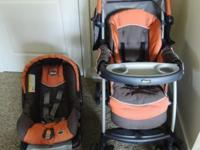 Chicco Cortina Keyfit 30 Travel System including a car