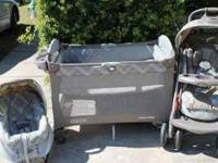 Its a Graco all matching set stroller with sunshade
