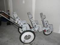 This stroller is awesome! Great shape and its a blast