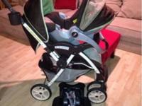 Click Connect Travel System Including Stroller, Click