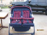 Double stroller for sale. Great condition.$25.00.