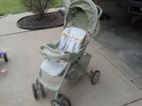 Strollers in good condition. Green stroller $25.00 Blue