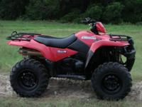 2009 Suzuki King Quad 450 4x4. Strong running, good