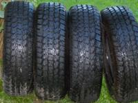I have a set of 4 studabble winter tires for sale