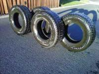 Four studded tires Mastercraft Courser MSR with
