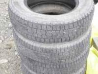 Studded winter tires - P195 / 70 R14 91T M+S Kumho KW11