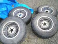 Studded Goodyear Eagle Gt4 - P225 /70 R15 Call  or