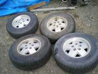 Wintermaster Plus - Studded - P235 / 75 R15 WITH RIMS