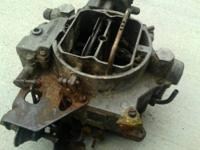 for sale is an old Carter WCFB 4 barrel carb from a