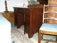 Nice seven drawer desk for a student or for a home