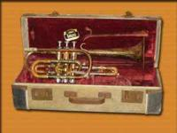 Getzen Student Model Cornet Vintage 1960s Cornet and