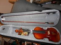 a violin in good condition - don't know anything about